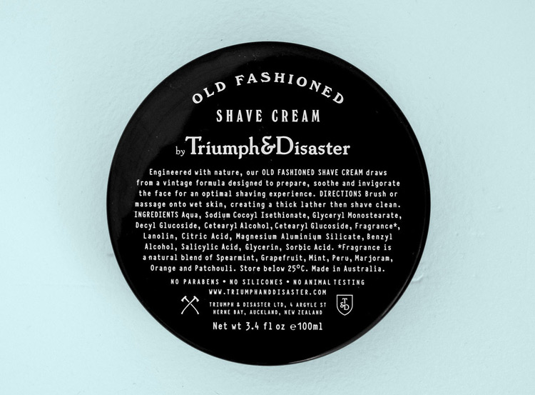 Triumph & Disaster Shave Cream