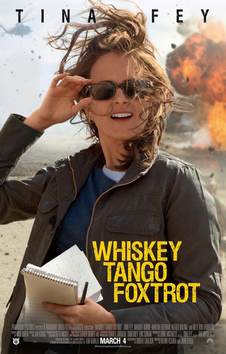 Whiskey Tango Fox Trot Poster