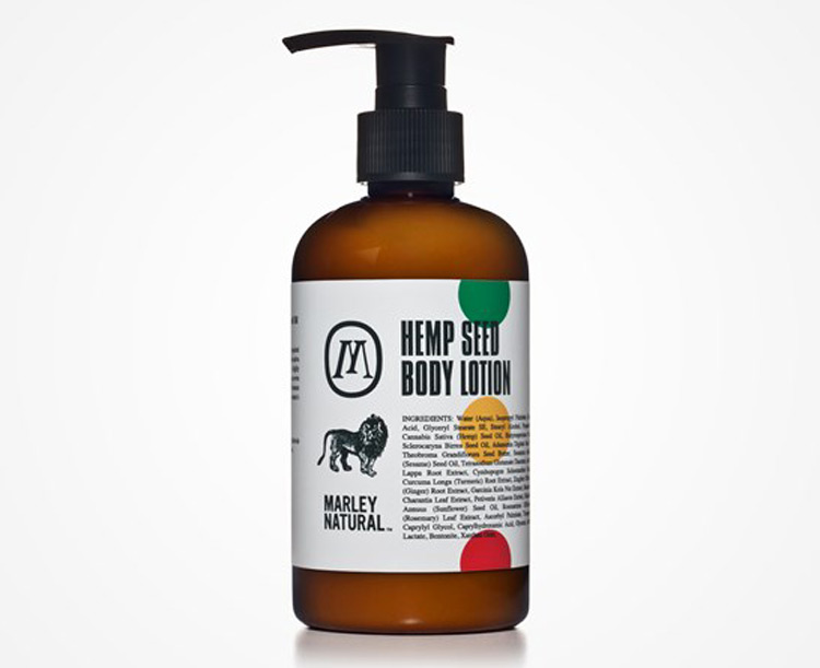 Bob Marley Hemp Seed Body Lotion