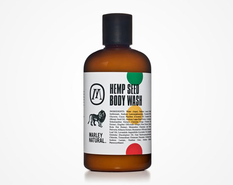 Bob Marley Hemp Seed Body Wash
