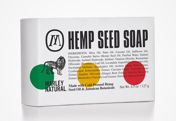 Bob Marley Hemp Seed Soap