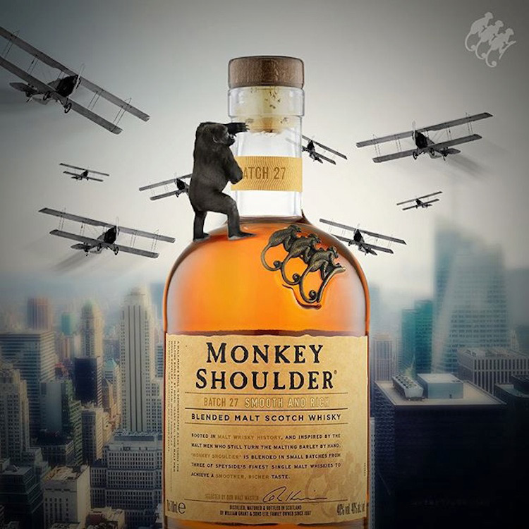 Monkey Shoulder Triple Malt Scotch Whisky