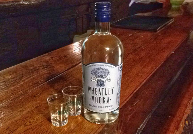 Wheatley Vodka Buffalo Trace Distillery 1