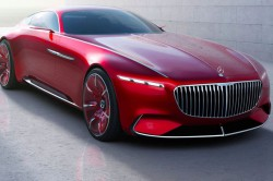 Vision Mercedes Maybach 6 Coupe Concept 3