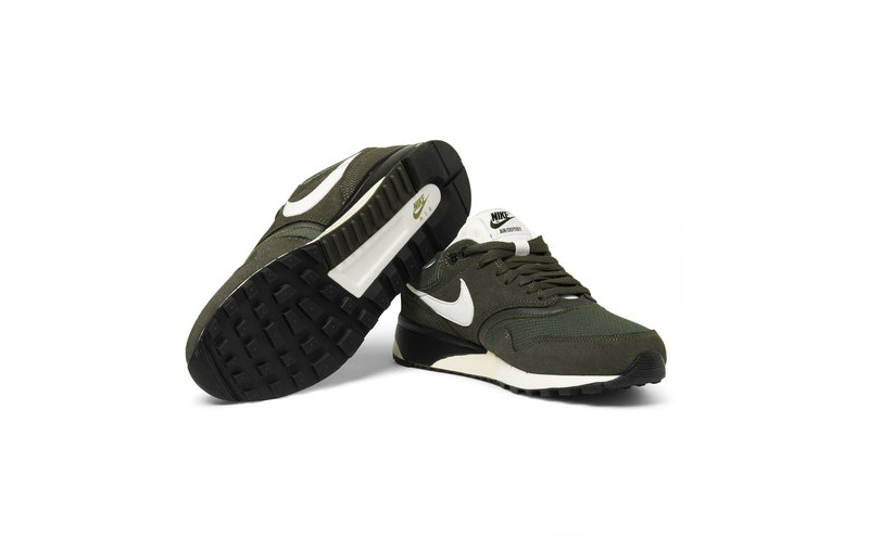 Nike Air Odyssey Leather Mesh Nubuck Sneakers 2