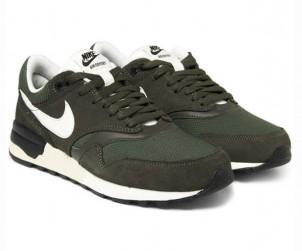 Nike Air Odyssey Leather Mesh Nubuck Sneakers