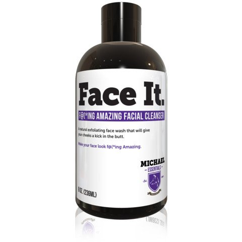 Michael Essentials Grooming Face It Aha Facial Cleanser