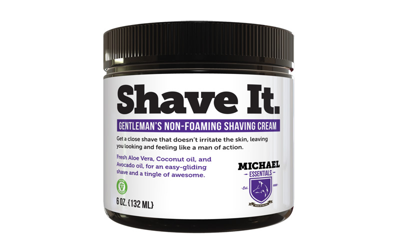 Michael Essentials Grooming Shave It Non Foaming Shaving Cream