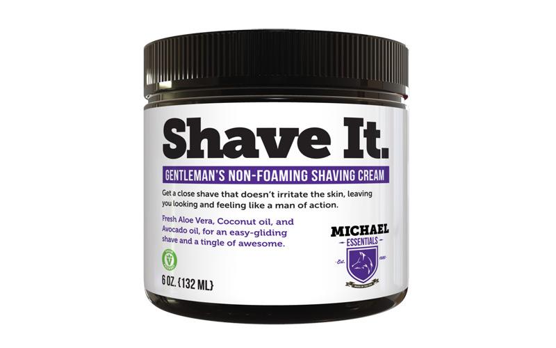 Michael Essentials Grooming Shave It Non Foaming Shaving Cream