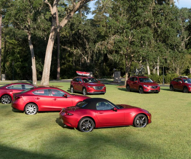 2017 Mazda Cars Line U