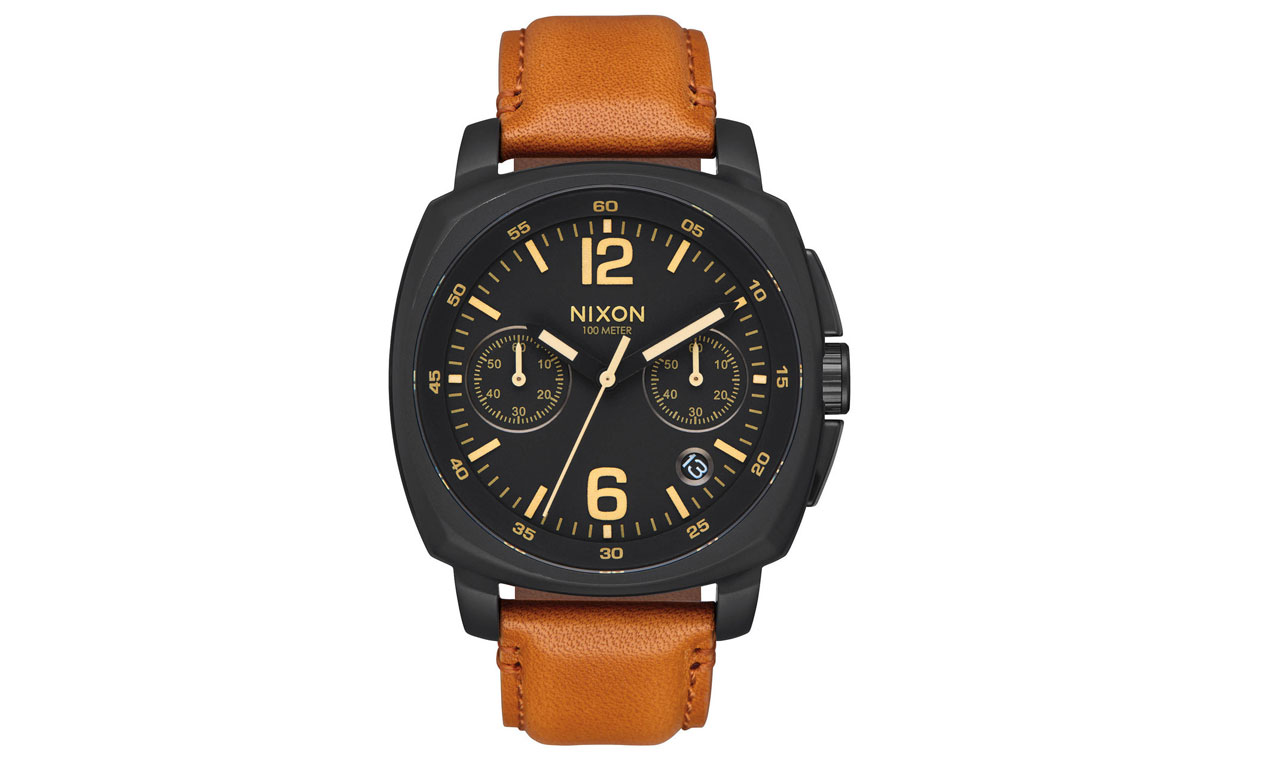 Nixon Charger Chrono Leather