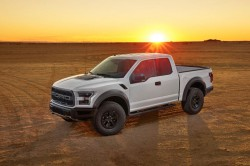 White Raptor Ford F 150