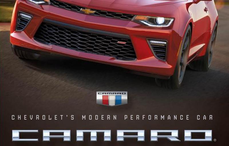 Camero 2016 Chevrolet Modern Performance Car Book