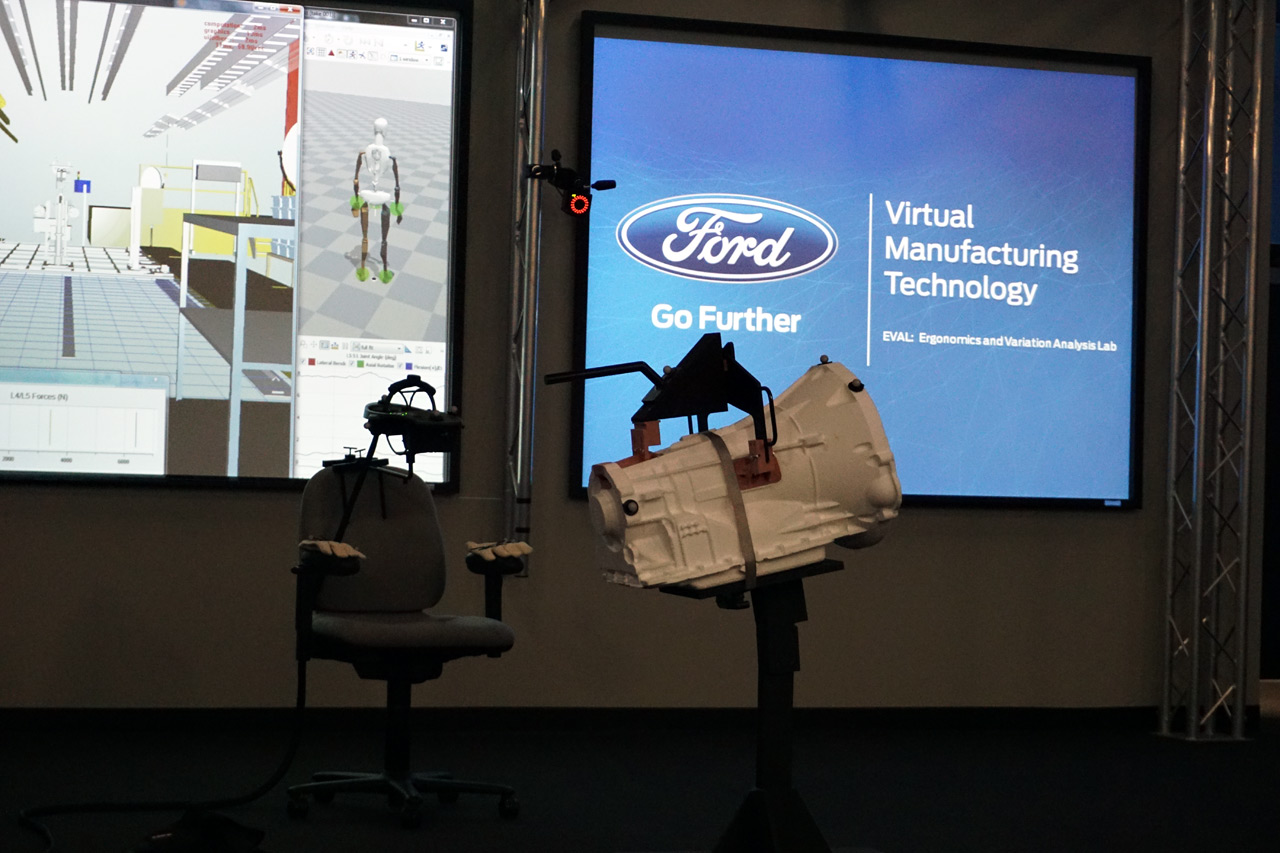 Ford Auto Show Virtual Reality Automobility 13