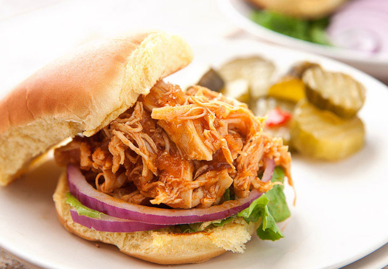Macheesmo Bbq Chicken Sloppy Joes