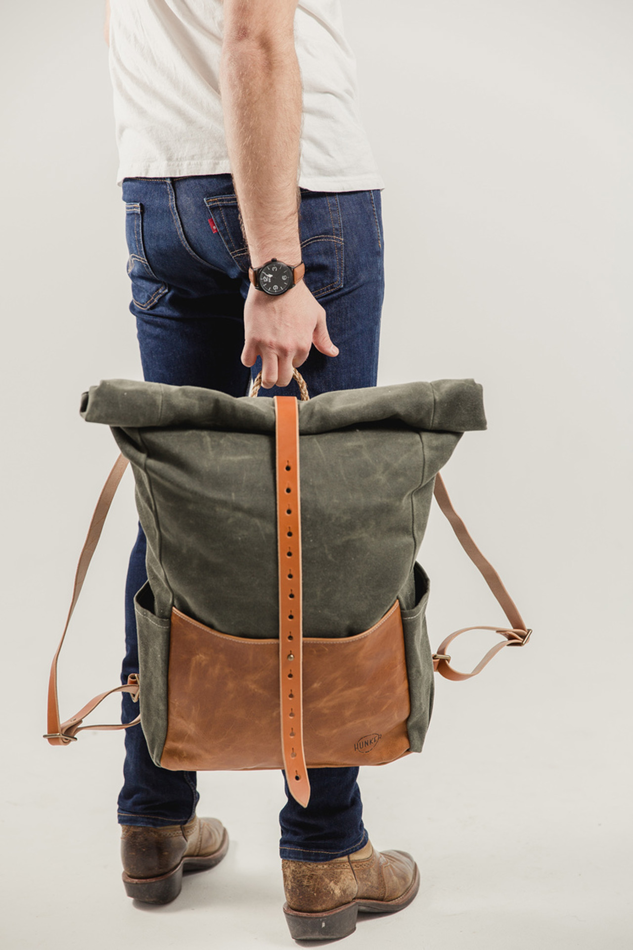Hunker Bag Co Highwayman Rollto