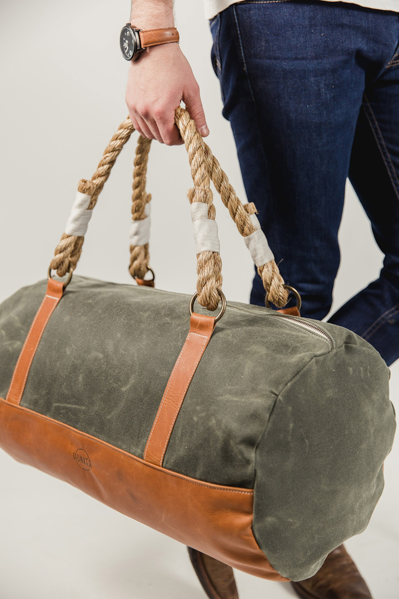 Hunker Bag Co Duffel No 1