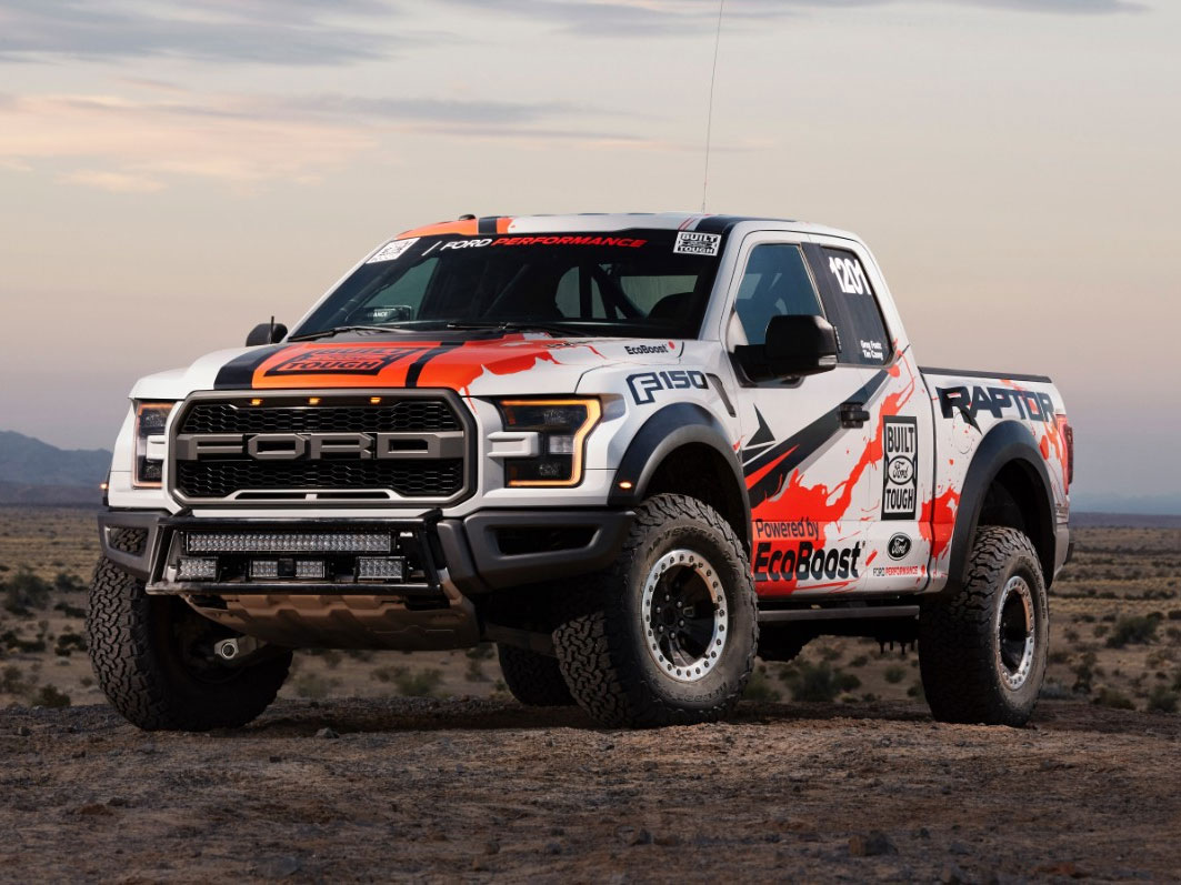 All New Ford F 150 Raptor Baja 1000