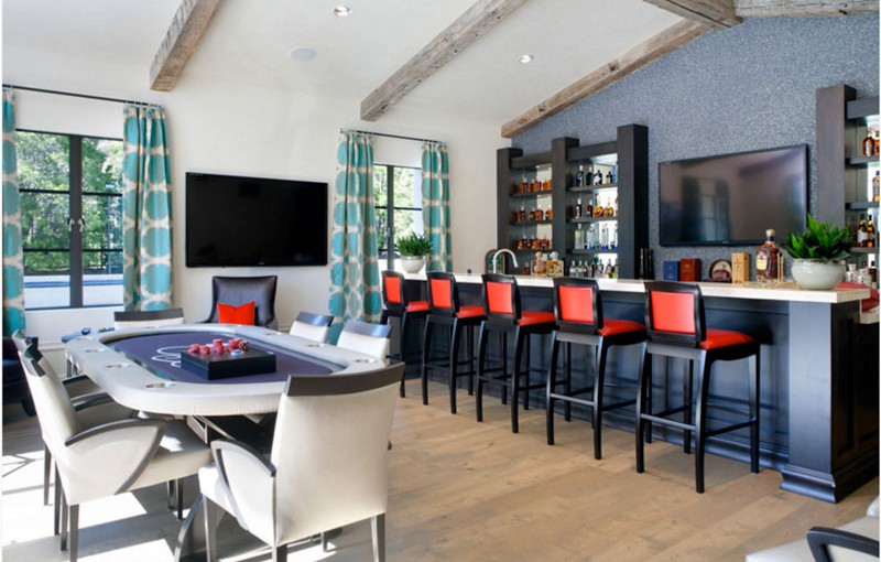 5 Of The World S Most Stylish Poker Rooms