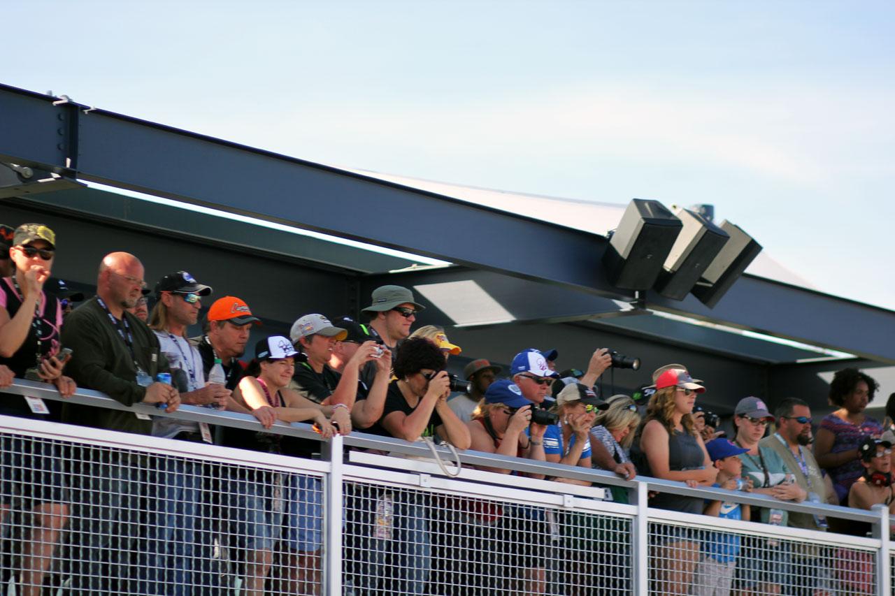 Nascar Las Vegas Race Fans