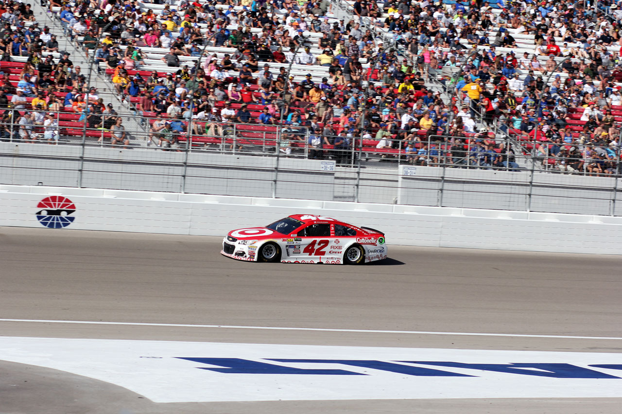Nascar Las Vegas Race No 42 Car