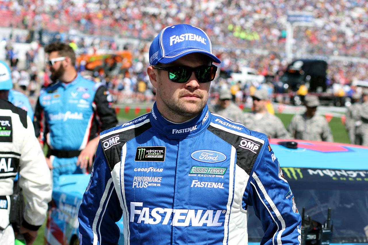 Nascar Las Vegas Ricky Stenthouse Jr