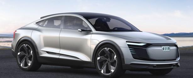 Audi E Tron Sportback Concept Front
