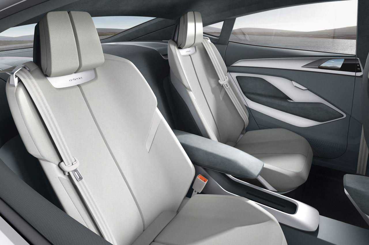 Audi E Tron Sportback Concept Inside