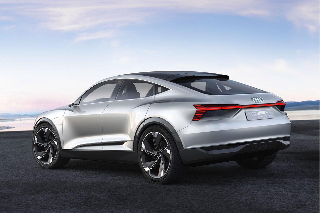 Audi E Tron Sportback Concept Rear