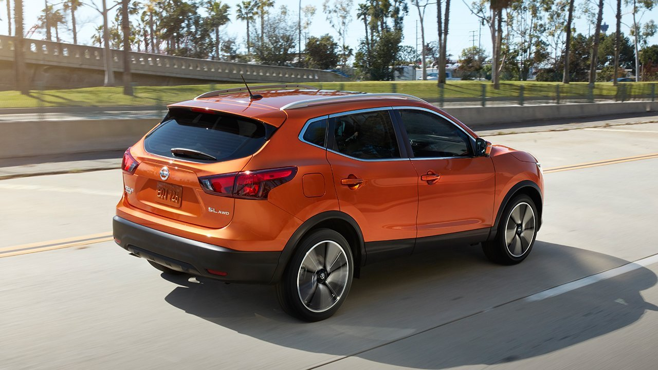 Nissan Rogue Sport Orange Crossover Cuv
