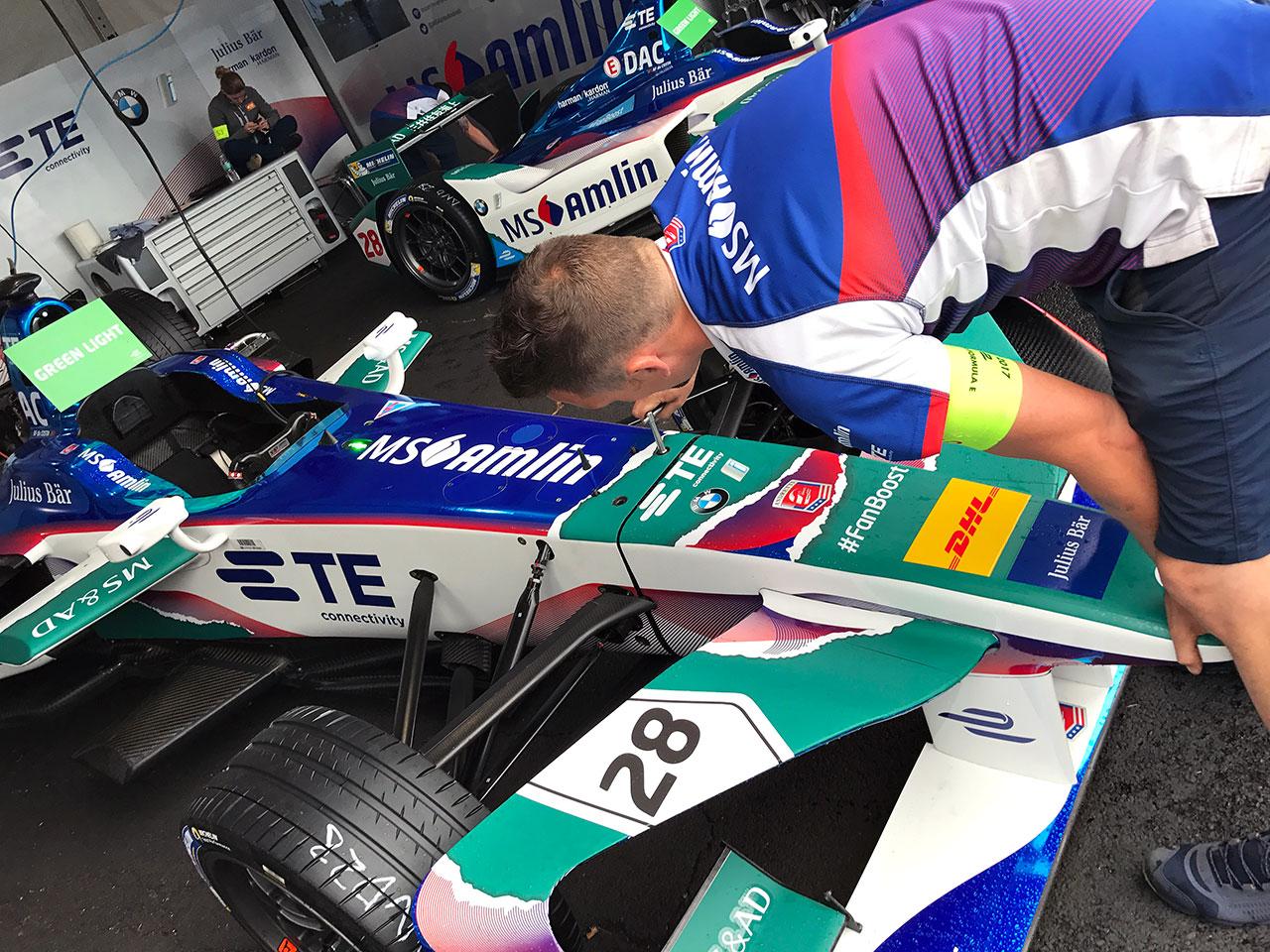 Andretti Formula E Harman Team