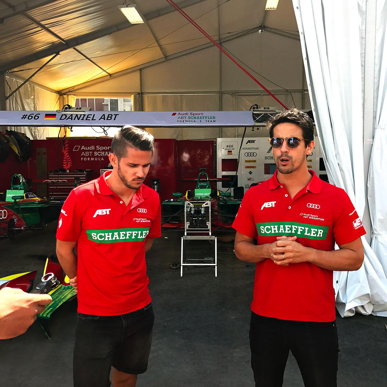 Daniel Abt Lucas Di Grassi Formula E