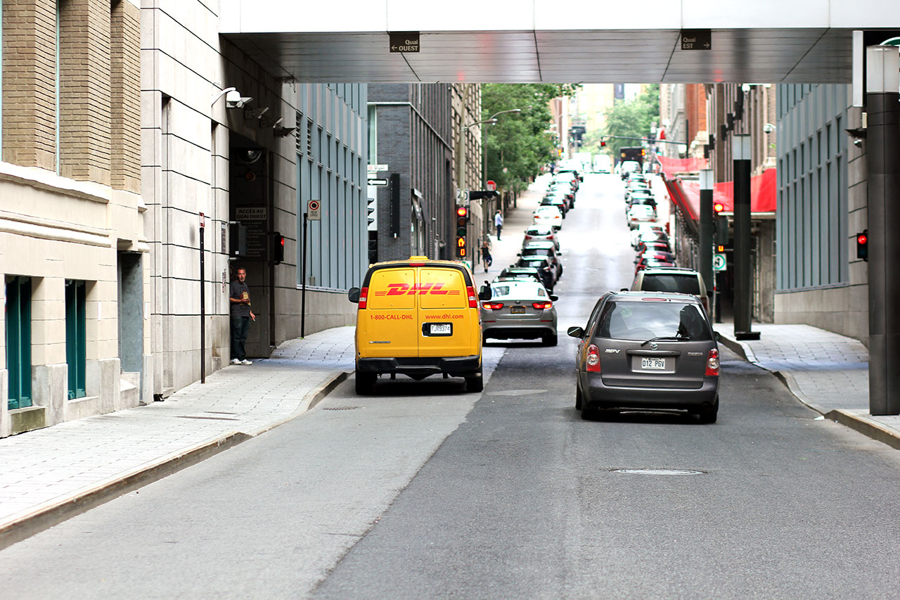 Dhl Montreal City Streets