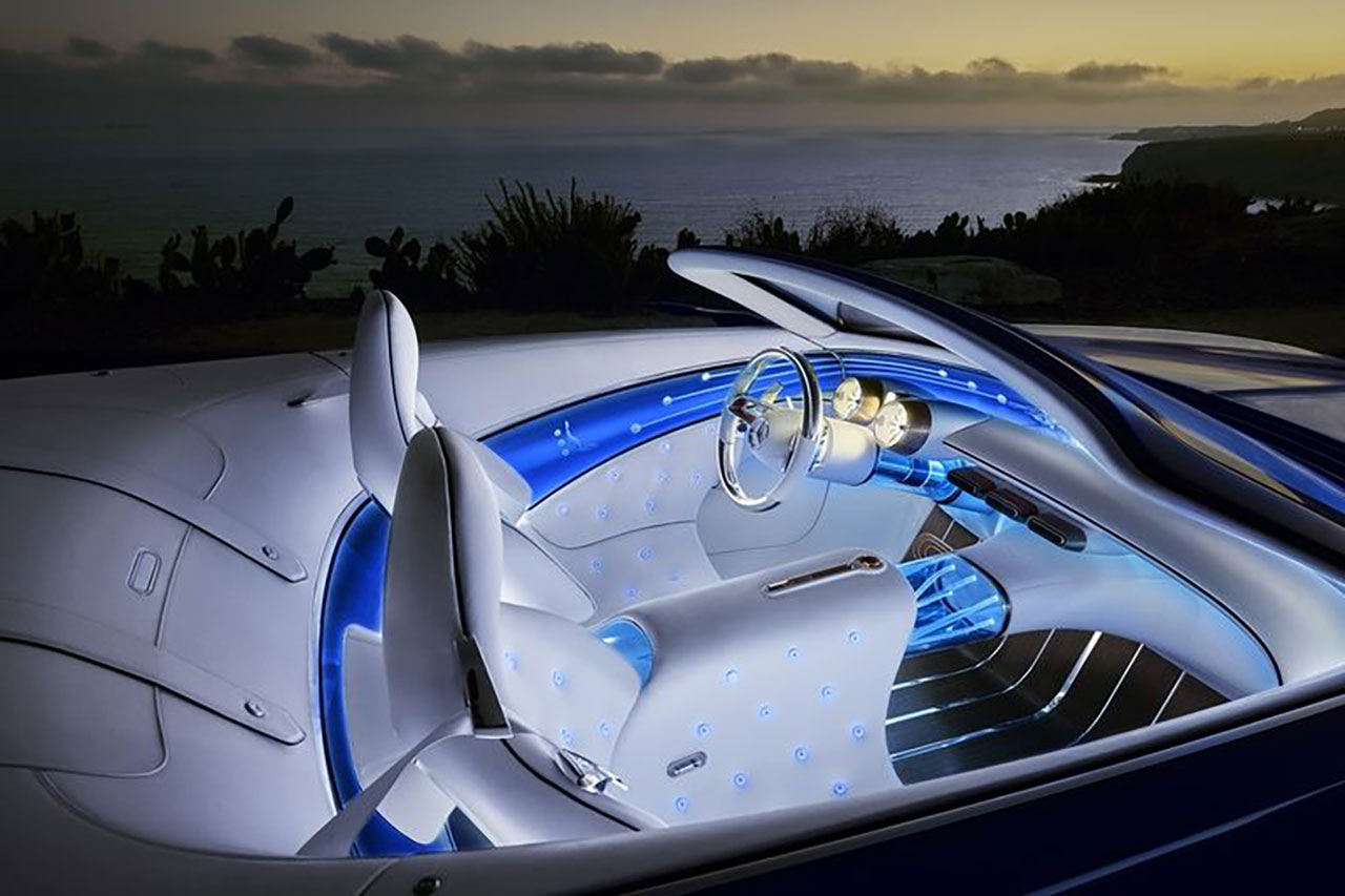 Mercedes Maybach Vision 6 Cabriolet 5