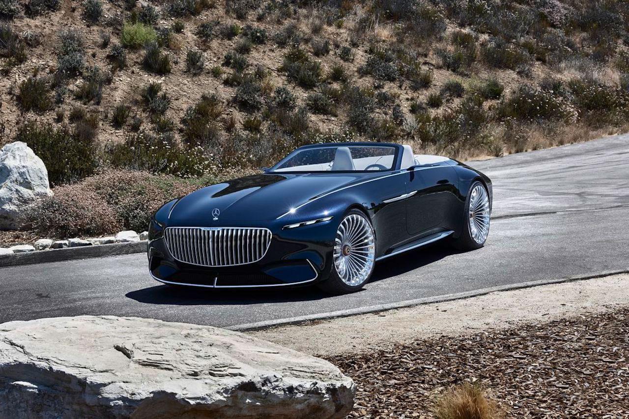 Vision Mercedes Maybach 6 Cabriolet 11