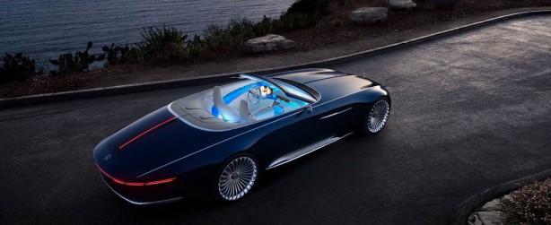 Vision Mercedes Maybach 6 Cabriolet 4