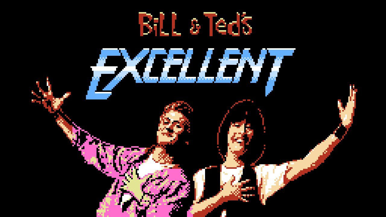 Bill Ted Excellent 8 Bit