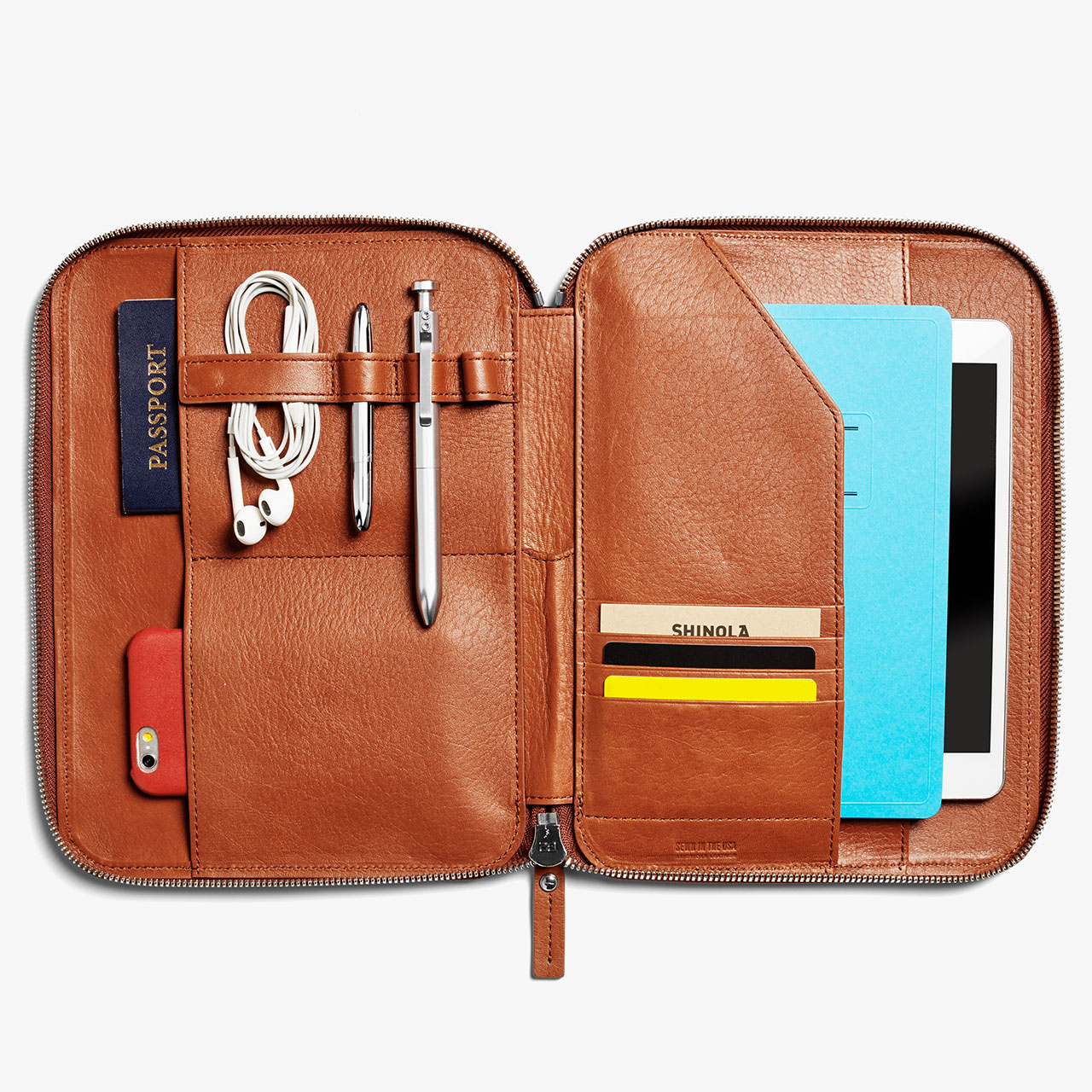 Shinola Tech Portfolio Signature Leather 1