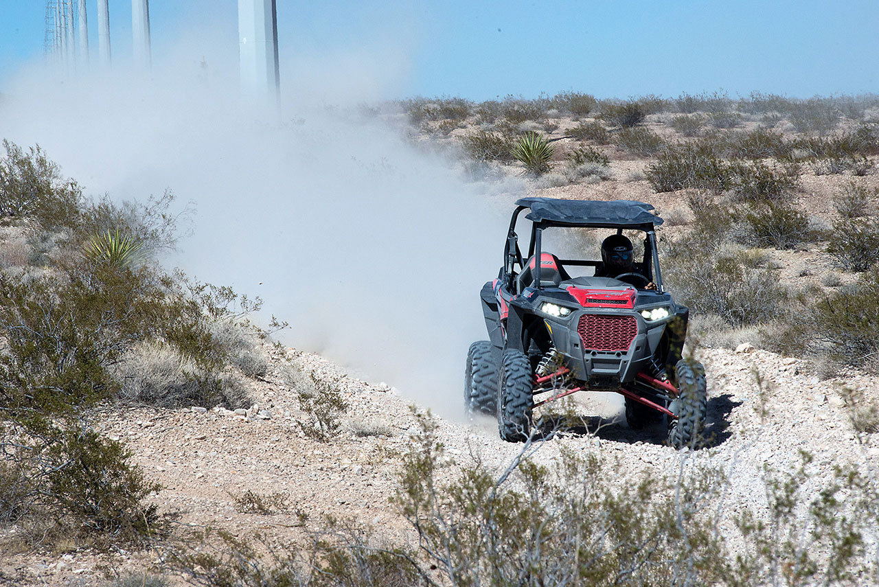 Polaris Rzr Off Roading 3