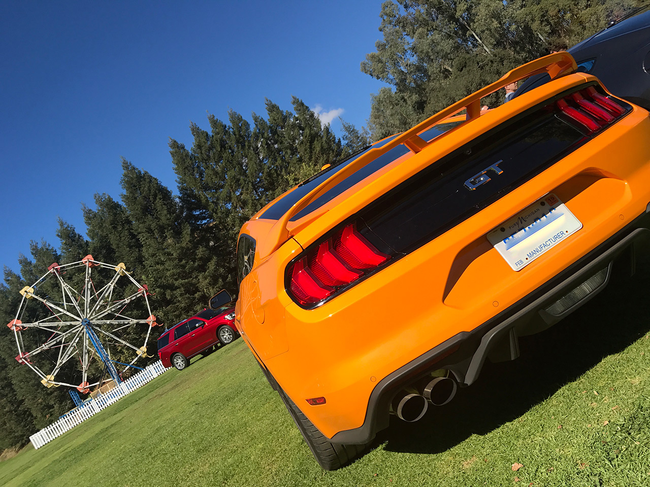 New Ford Mustang 1