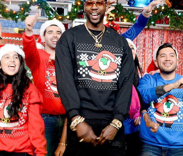 Celebrities Pushing Ugly Christmas Sweaters