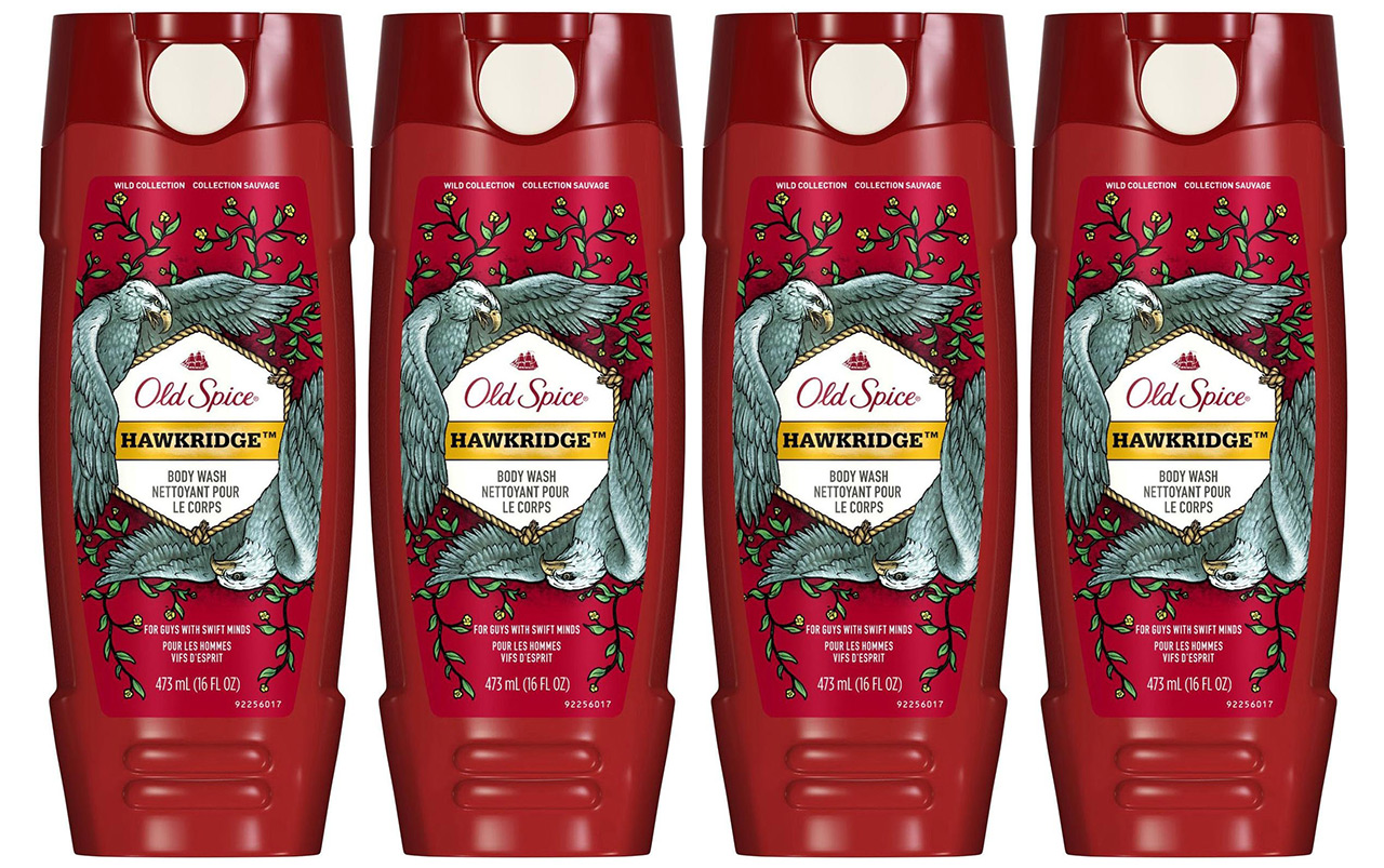 Old Spice Hawkridge Body Wash