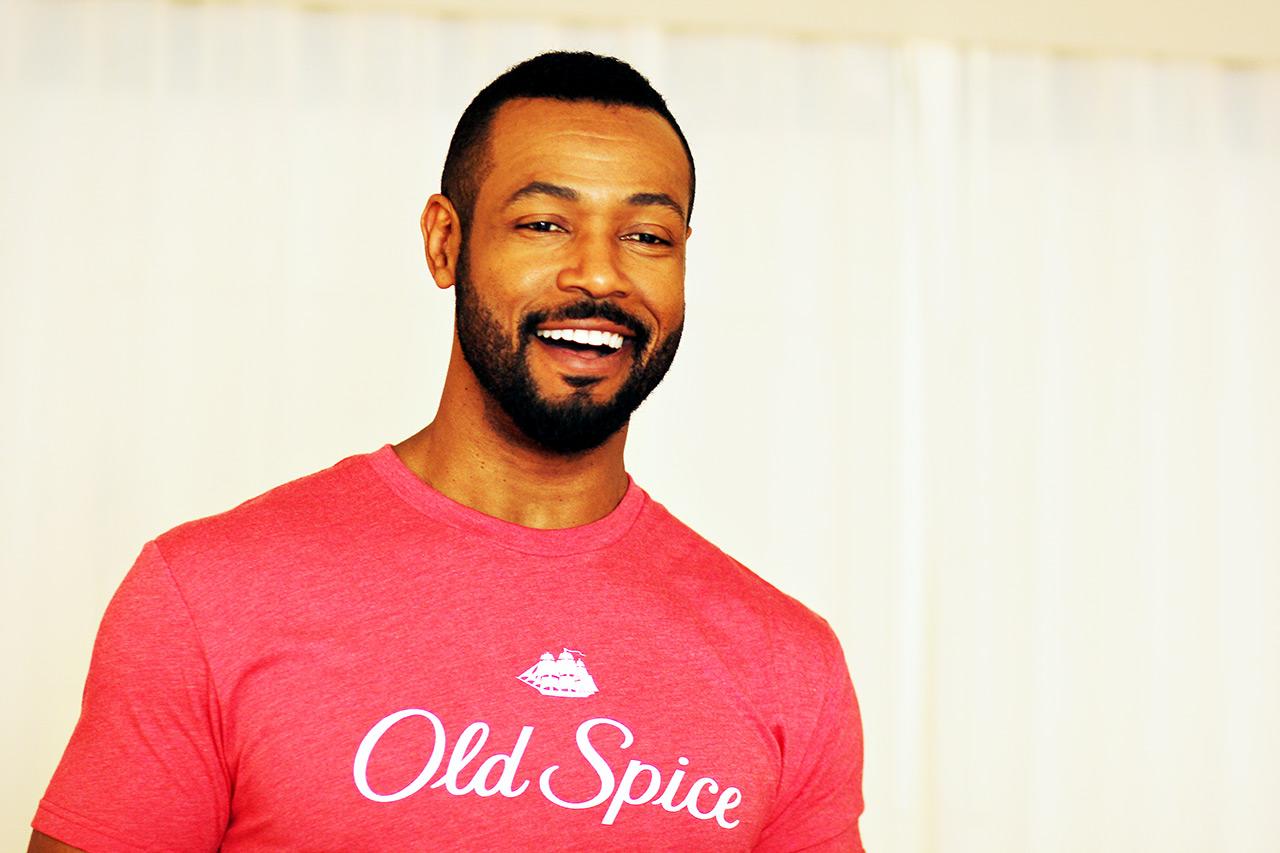Isaiah Mustafa Old Spice Guy