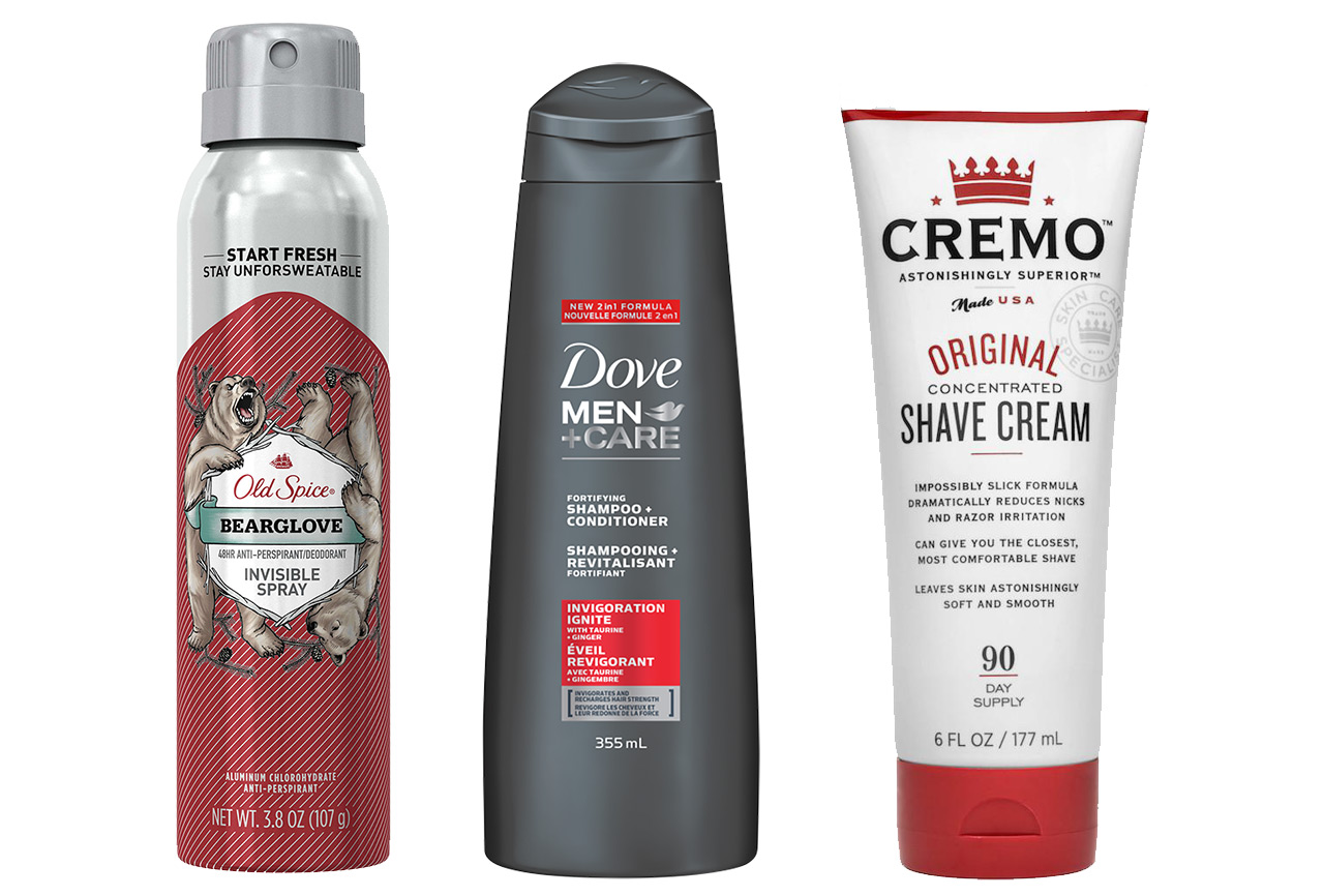 Mens Grooming Products Dove Old Spice Cremo