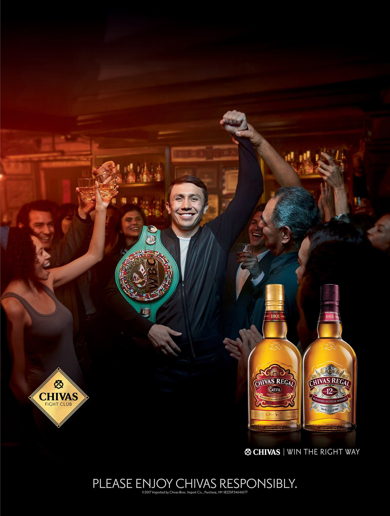 Chivas Regal Ggg Fight Club