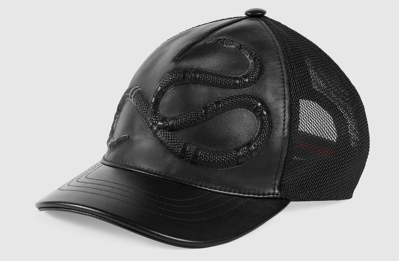 Gucci Snake Leather Hat 2