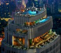 Marriott Bangkok Octave Bar Lounge View