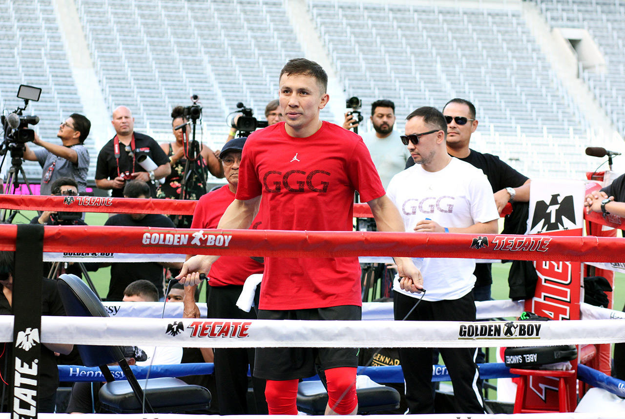 Ggg Canelo Fight Media Day 5