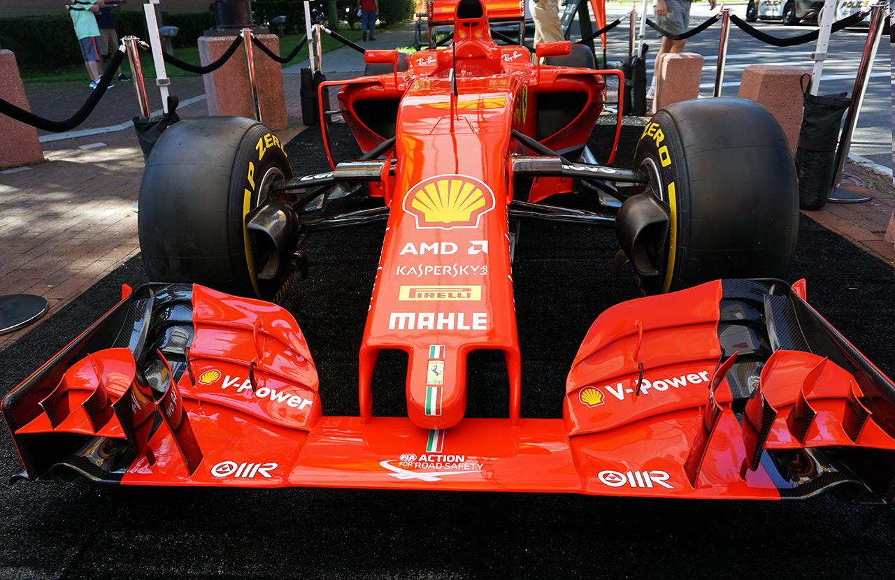 Shell Ferrari Clup Meet Watkins Glen 3