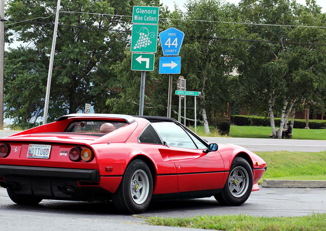 Shell Ferrari Clup Meet Watkins Glen 4